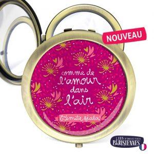 Miroir-Les-Parisiennes-bronze-antique-Love-accessoire-coeurs-amour