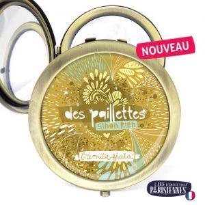 Miroir-Les-Parisiennes-bronze-antique-Paillettes-accessoire-or-feerie