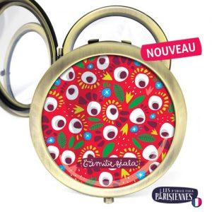 Miroir-Les-Parisiennes-bronze-antique-Pop-accessoire-eclosion-fleurs-flore