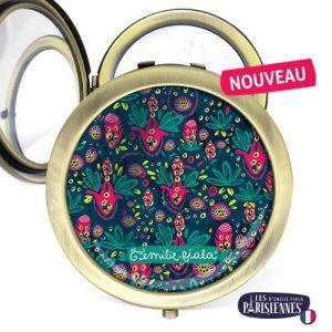 Miroir-Les-Parisiennes-bronze-antique-Rio-accessoire-exotique-samba