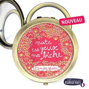 Miroir-Les-Parisiennes-bronze-antique-Yeux-de-Biche-accessoire-mirror-pocket