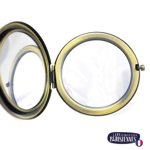 Miroir-Les-Parisiennes-bronze-antique-ouvert-accessoire-mode-tendance