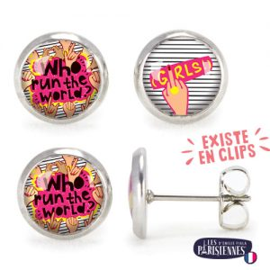 PO-Les-Parisiennes-Girl-Power-argent-bijoux-fantaisie-cadeau