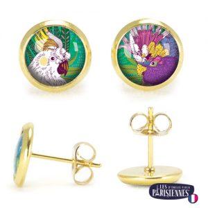 PO-Les-Parisiennes-Perroquets-or-bijoux-fantaisie-cadeau