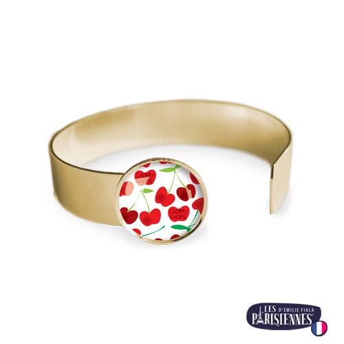Bracelet-Medium-Les-Parisiennes-Cherry_OR