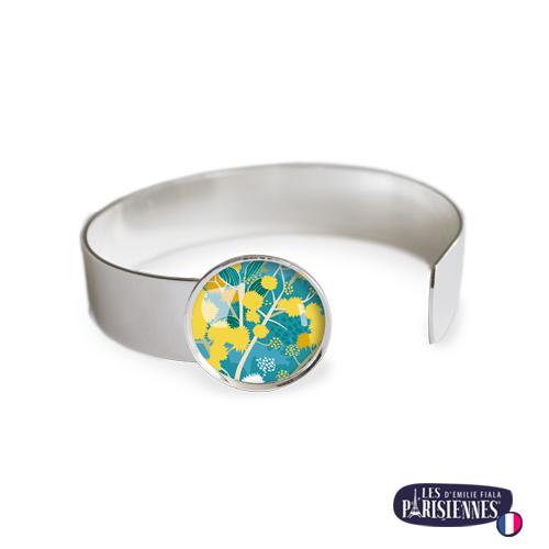 Bracelet-Medium-Les-Parisiennes-Mimosa_ARGENT